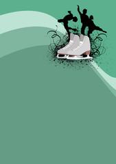 Figure Skating background