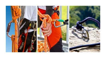 Klettern - Collage