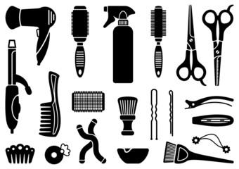 Hairdresser's accessories