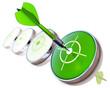 dart grün erfolg