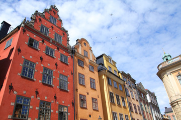 Stockholm - Stortorget square at the Old Town (Gamla Stan)