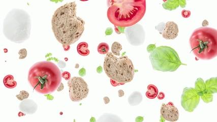 Italian Ingredients falling down (ends on green)
