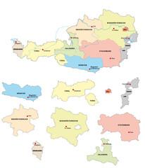 Österreich, Bundesländer