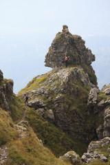 Roccia calcarea - Monte Grona