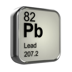 3d Periodic Table - 82 Lead