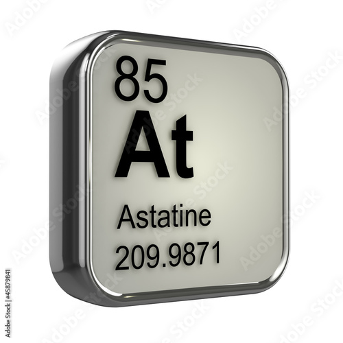 3d periodic table 85 astatine stock photo and royalty for Periodic table 85