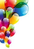 Fototapety Balloon background