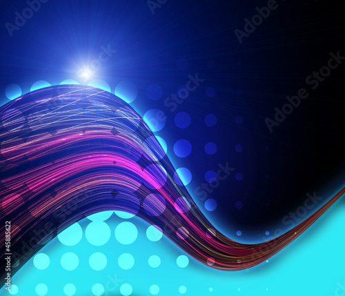 Abstract Background_ Graphics Lines.