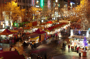 Christmas Markets in San Venceslao Square - Prague