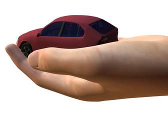 AUTO IN MANO - 3D