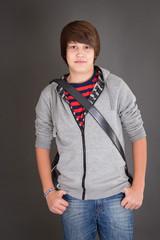 Junge in der Pubertät