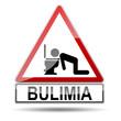 Señal peligro BULIMIA