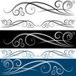 Swirl Banner Set