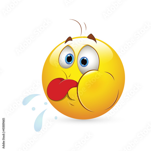 Smiley Emoticons Face Vector - Funny Expression