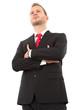 Der Manager im Anzug