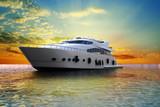 Fototapete Wohlbefinden - Weiß - Segelboot