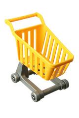 Miniature Shopping Trolley