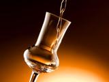 bicchiere e grappa