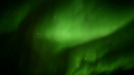 Strong solar storm - Northern Lights
