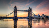 tower bridge at sunrise - 45897465
