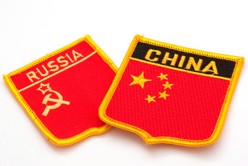 russia and china