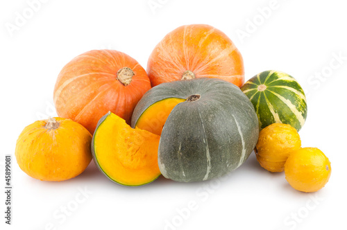 colorful pumpkins