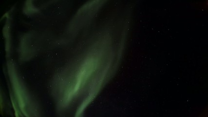 Northern Lights - Solar flare