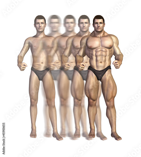 Bodybuilder's Transformation