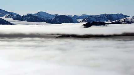 Fog over the fiord