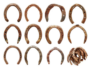 old horseshoes