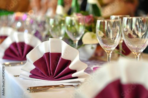 Festliche Tischdeko