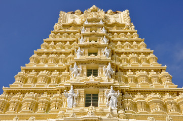 Sri Chamundeswari Temple, Chamundi Hill, Mysore, India