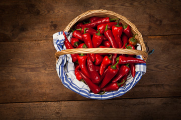 Red Hot Chili Peppers in Basket