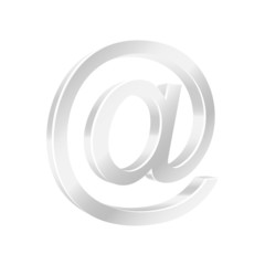 Email symbol. Vector illustration