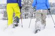 Tour im frischen Schnee