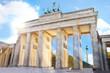 Brandenburger Tor mit dem Fernsehturm Fotomontage