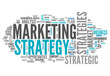 "Word Cloud ""Marketing Strategy"""