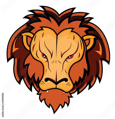 Foto op Plexiglas Draken Lion Mascot