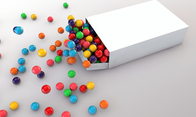 gumballs in a white box_02