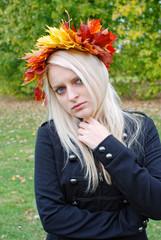 alternativ Business Girl in Autumn