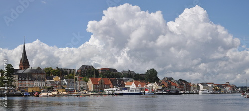 canvas print picture Flensburg