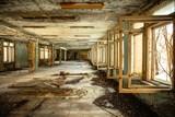 Abandoned Corridor in Chernobyl - 45911645