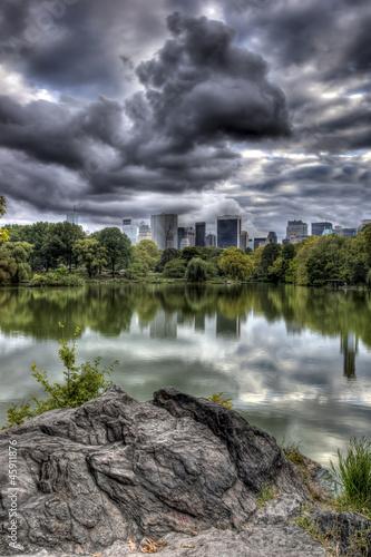 Central Park at lake