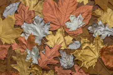 Goldener Herbst Hebstblätter