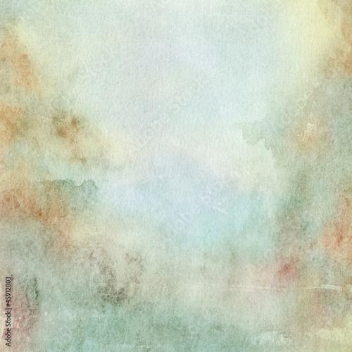 aquarell hellblau beige graublau