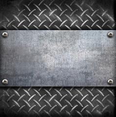 fondo metallo vintage