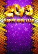 2013 New Year background with place for text