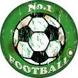 vintage football sign,design element, vector illustration, eps 1