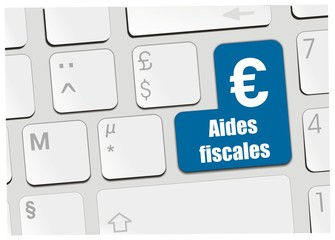 clavier aides fiscales