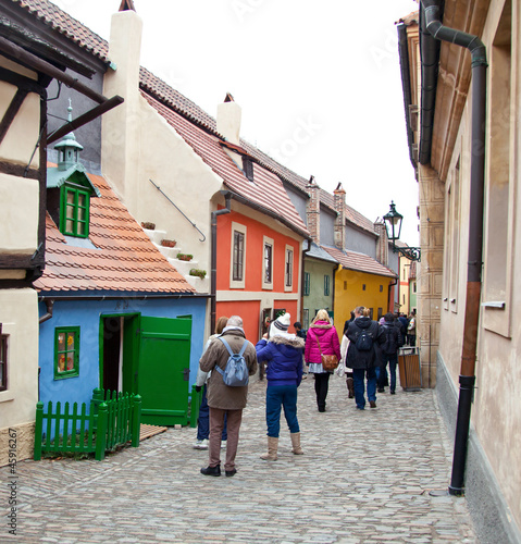 Golden lane in Prague - Zlata Ulicka